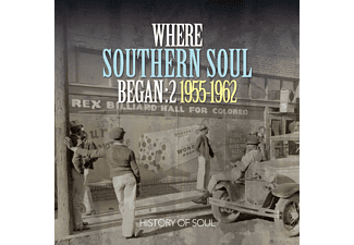 VARIOUS - Where Southern Soul Began 2 [CD]