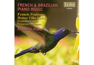 Elizabeth Powell - French & Brazilian Piano Music - (CD)