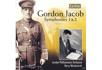 Barry London Philharmonic Orchestra & Wordsworth - Gordon Jacob: Symphonies 1 & 2 - (CD)