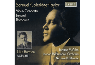 VARIOUS - Samuel Coleridge-Taylor: Violin Concerto, Legend, Romance - (CD)