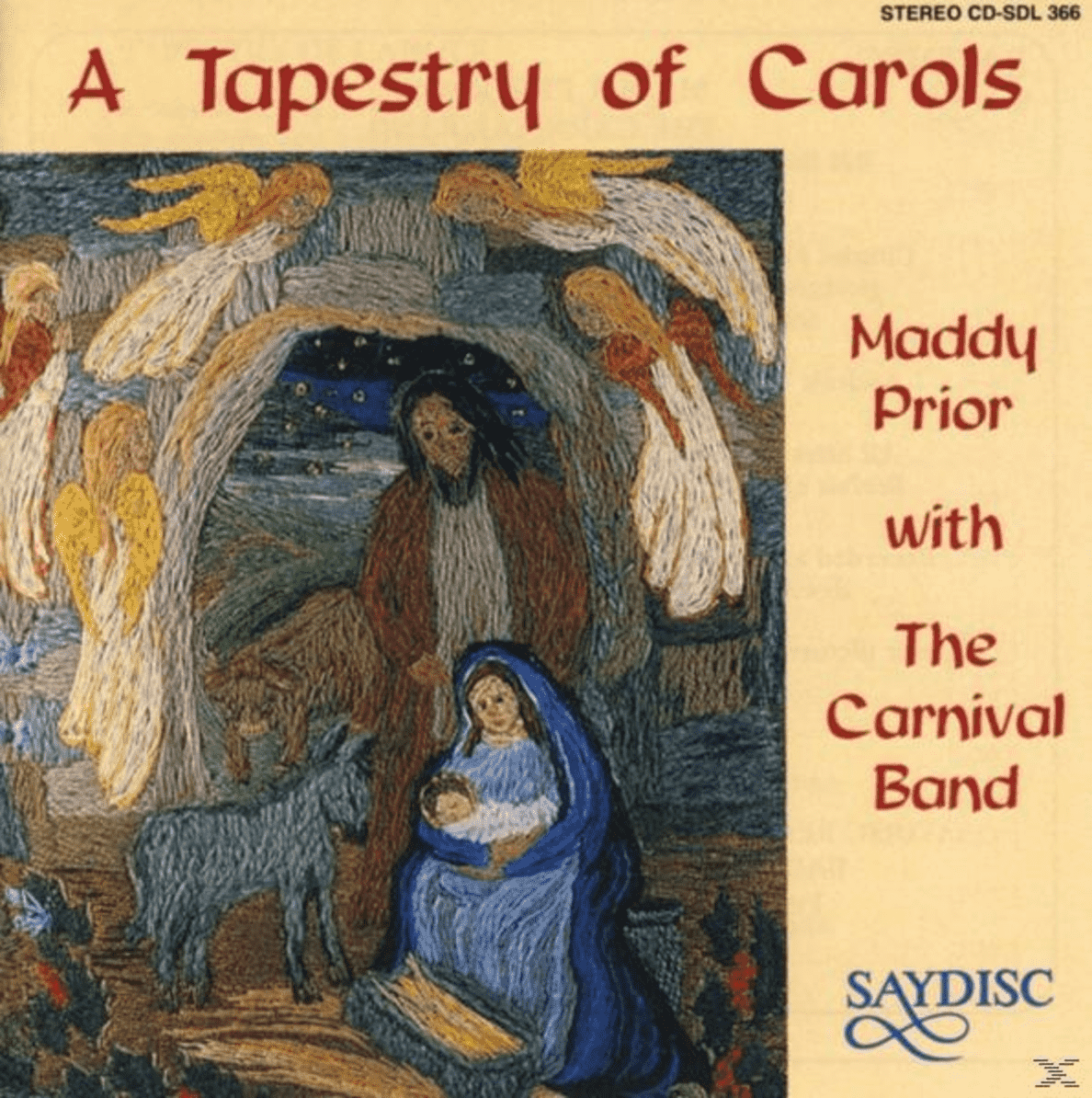 Maddy Prior With The Carnival Band - A Tapestry of Carols - (CD)