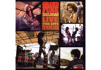 Gr Funk Railroad, Grand Funk Railroad - Live Album-The 1971 Tour - (CD)