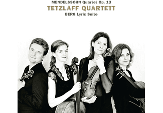 Tetzlaff Quartett - Mendelssohn: Quartett Op. 13 / Berg: Lyrische Suite - (CD)