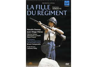 VARIOUS, Royal Opera Chorus, Orchestra Of The Royal Opera House - DIE REGIMENTSTOCHTER (LONDON 2007) - (DVD)