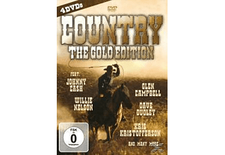 VARIOUS - Country-The Gold Edition - (DVD)