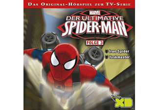 - Marvel: Der ultimative Spider-Man 03: Iron Spider / Taskmaster - (CD)