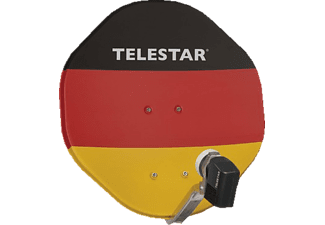 TELESTAR Alurapid 45 Germany 2TN inkl. Twin LNB  (45 cm, Digitales Twin-LNB)