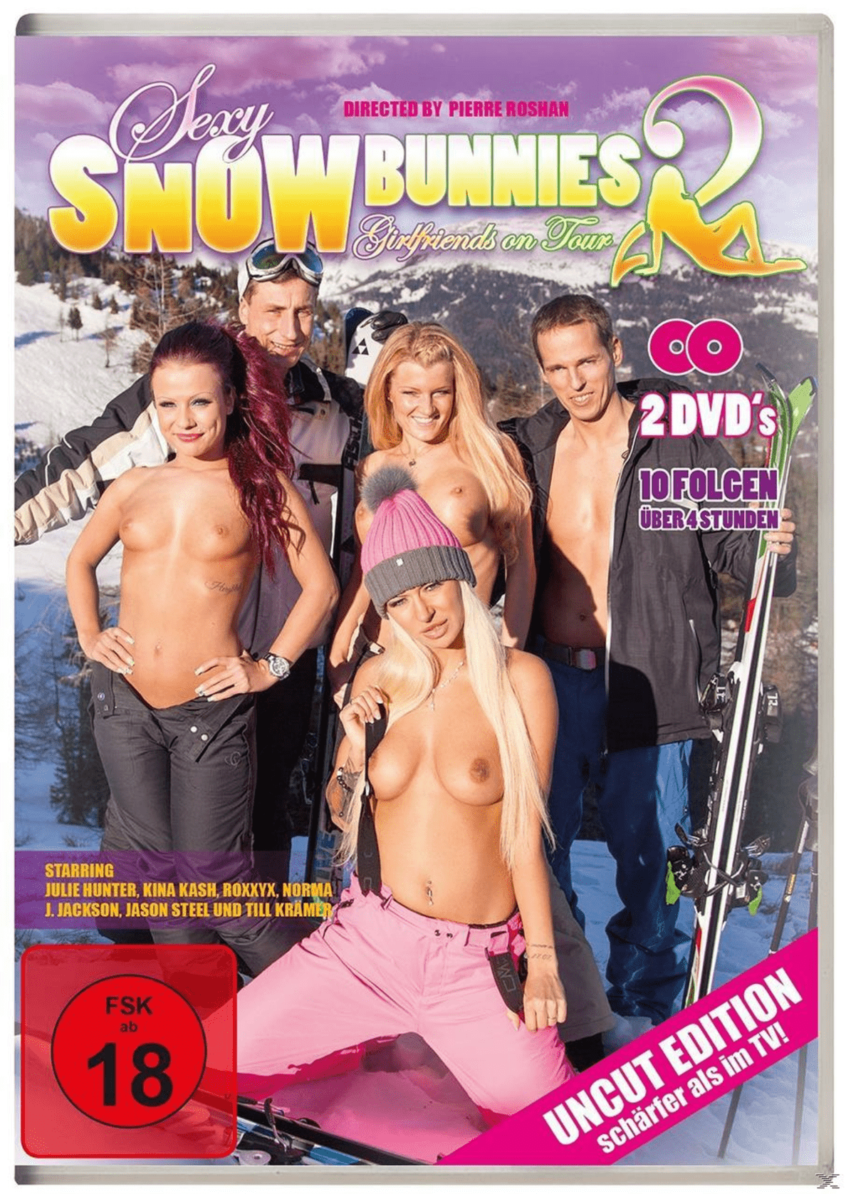 SEXY SNOW BUNNIES 2 - GIRLFRIENDS ON TOUR - (DVD)