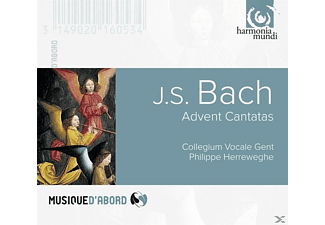 Philippe Herreweghe (dir) Collegium Vocale Gent - Advent Cantatas - (CD)