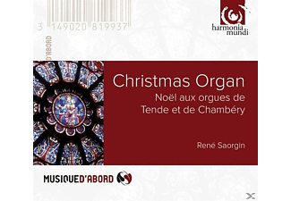 Rene Saorgin (org) - Christmas Organ - (CD)
