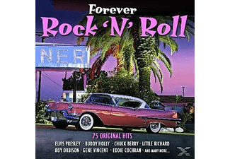 VARIOUS - Forever Rock 'n' Roll Hits-75 Original Hits - (CD)