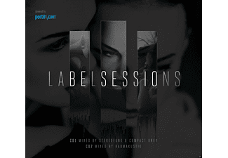 Various - LABELSESSIONS // 2CD MIX-COMPILATION - (CD)