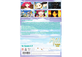003 - MAGI - THE LABYRINTH OF MAGIC - (DVD)