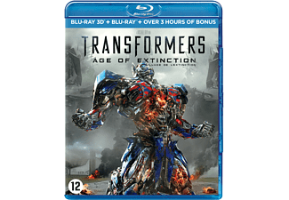 Transformers: Age Of Extinction 3D | 3D Blu-ray