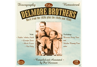 The Delmore Brothers - More From The '30s Plus '40s & '50s - (CD)