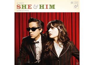 She & Him - A Very She & Him Christmas (Jewel Case) - (CD)