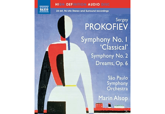 Marin Alsop, Sao Paulo Symphony Orchestra, VARIOUS - Sinfonie 1+2 - (Blu-ray Audio)