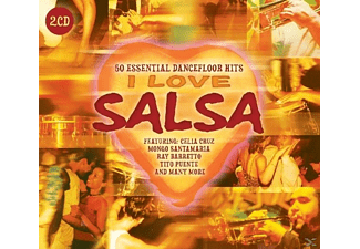VARIOUS - I Love Salsa - (CD)