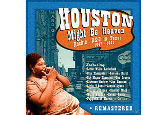 VARIOUS - Houston Might be Heaven-Rockin' R&B in Texas 194 - (CD)