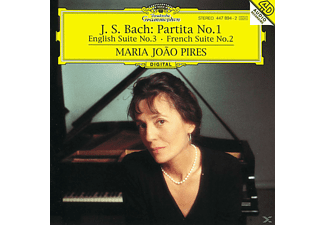 Maria Joao Pires - Partita 1/Engl.Suite 3/+ - (CD)