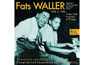 Fats Waller - Vol.5.The Complete Recorded Works - (CD)