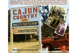 VARIOUS - Cajun Country 2.More Hits From The - (CD)