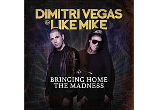 Dimitri Vegas & Like Mike - Bringing Home The Madness CD