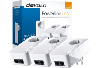 DEVOLO 9304 dLAN® 550 duo+ Network Kit Powerline