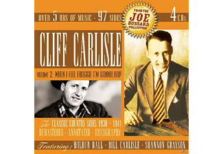 Cliff Carlisle - The Classic Country Sides 1930-'41 - (CD)