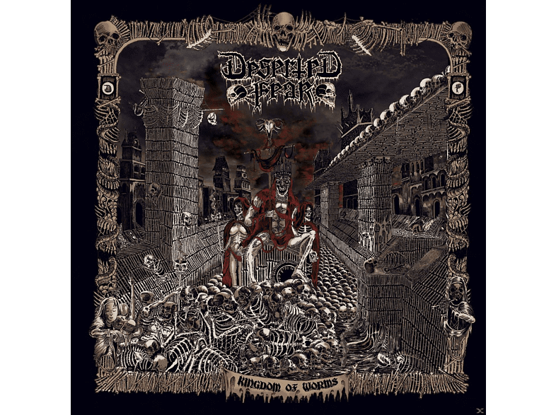 Deserted Fear - Kingdom Of Worms [CD]
