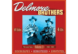 The Delmore Brothers - The Later Years 1933-1952,Vol.2 - (CD)