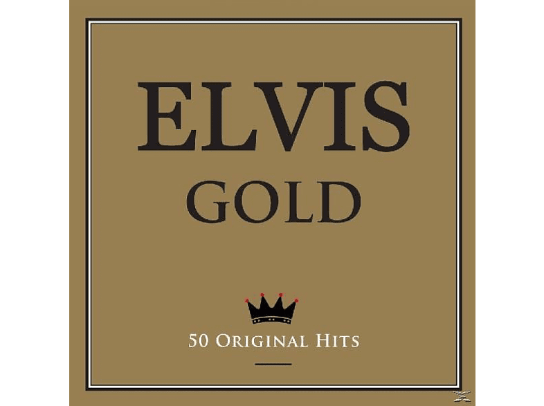 Elvis Presley - Gold-50 Original Hits-2cd [CD]