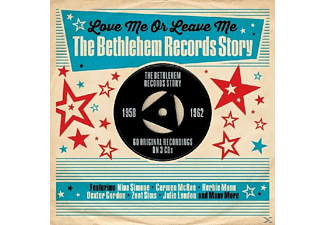 VARIOUS - Love Me Or Leave Me-Bethlehem Records Story1958-62 - (CD)