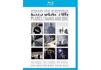 Eric Clapton - Planes, Trains And Eric-Mid And Far East Tour 2014 - (Blu-ray)