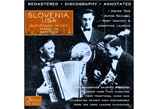 VARIOUS - Slovenia, Usa.Slovanian Music Made - (CD)
