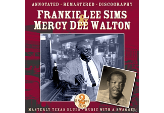 Frankie Lee Sims, Mercy Dee Walton - Masterly Texas Blues.Music With A - (CD)