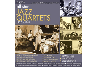 VARIOUS - All Star Jazz Quartets 1927-1941 - (CD)