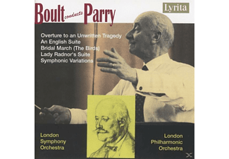 LONDON SYMPH. & PHILH. ORCH. / BOUL - Overture to an Unwritten Tragedy - (CD)