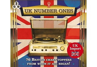 VARIOUS - Uk Number Ones-76 British Charts Toppers - (CD)