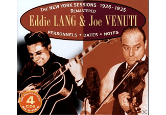 Venuti, Joe / Lang, Eddie - The New York Sessions 1926-1935 - (CD)