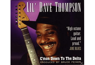 Lil  Dave Thompson - C'Mon Down To The Delta - (CD)