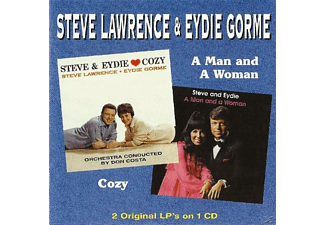 Lawrence,Steve/Gorme,Eydie - Cozy & A Man And A Woman - (CD)