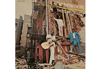 The Impressions - This Is My Country - (CD)