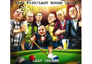 GIMP FIST/LAST ROUGH CAUSE - Last Orders (Split) - (CD)