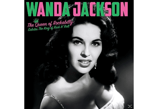 Wanda Jackson - THE QUEEN OF ROCKABILLY SALUTES THE KING OF - (Vinyl)