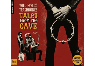 Wild Evel & The Trashbones - Tales From The Cave - (CD)