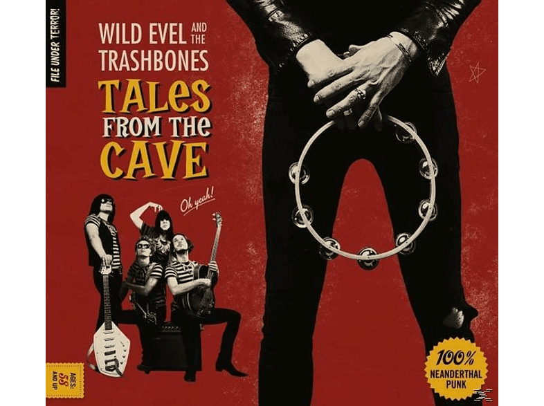 Wild Evel & The Trashbones - Tales From The Cave [CD]