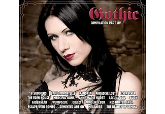 VARIOUS - Gothic Compilation Part Liv - (CD)
