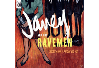 Janey & The Ravemen - Stay Away From Boys - (CD)