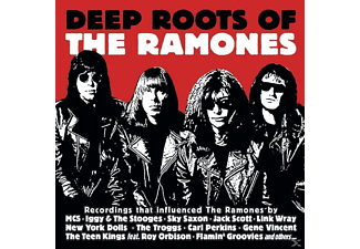 VARIOUS - Deep Roots Of The Ramones - (CD)